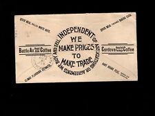 Saint Louis Krenning & Sons BOTH SIDES Battle Ax Coffee Oats Peas 1899 Cover 6h