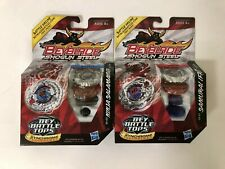 Beyblade Shogun Steel Samurai Ifrit W145CF SS-01 Top & Ninja Salamander SW145SD