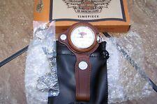 Harley Davidson Watch 9962194V GENUINE TIMEPIECE w/ Box and Leather Pouch