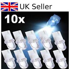 10x T10 W5W 501  SUPER White LED Car Interior Side Light Wedge Bulb Lamp