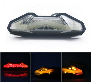 Feux de clignotant LED moto clignotants pour Yamaha MT-09 / FZ 09 Tracer 2014-16