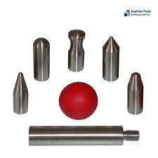 7 Wechselspitzen Set für Ausbeulwerkzeug Drücktechnik / M6 Screw-On Tips