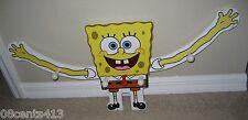 Spongebob Squarepants Coat / Jacket / Hat Hook Hanger With Moving Arms **READ**