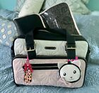 Betsey Johnson Quilted Hearts Diaper Bag Pink Cream MSRP $158. New With Tags!!