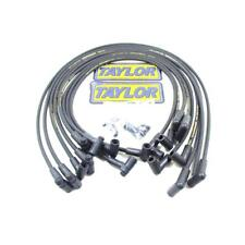 Taylor Spark Plug Wire Set 51006; Street Thunder 8mm Black for Chevy 262-400 SBC