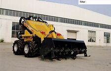 Hysoon Rotary tiller /Rotary Hoe for Mini loader/ digger  universal hitch plate
