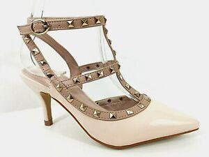 scarpe da donna elegante decoltè decollete con plateau tacco alto a spillo 37