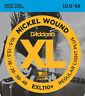 10 Sets D'Addario EXL110+ Nickel Wound Regular Light Plus 10.5-48 Guitar Strings