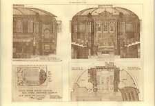 1904 Kings Weigh House Church Duke Street Grosvenor Sq New Organ And Chancel