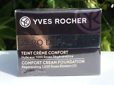 Yves Rocher Zero Defaut Comfort Cream Foundation Regenerating Beige 1.3 oz