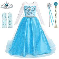 Princess Dresses Girls Costumes Birthday Party Halloween Costume Cosplay Dress