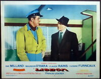 Lisbon Ray Milland Francis Lederer LOT 2 Original 1956 Lobby Cards