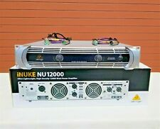 Behringer Nu12000 iNuke 12000W Power Amplifier W/(2) 4ft Xlr Cable (One)
