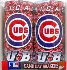 CHICAGO CUBS SALT & PEPPER SHAKERS W/ WRAPAROUND DESIGN FEATURING CIRCLE/C LOGOS