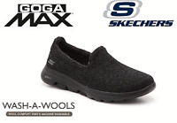 Womens Skechers GOwalk 5 Slip On Memory Foam Wool Walking Trainers Shoes Size