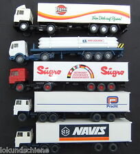 5 camions wiking ho 1:87 #3514