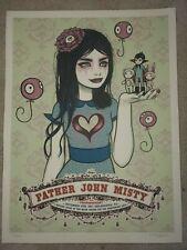 Father John Misty poster Mann Music Center Skyline Stage 9.15.17