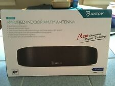 New listing Antop Bow At-217Fm Curved Indoor Amplified Multi-Directional Am/Fm Radio Antenna