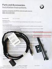 BMW E60 CD PLAYER RADIO MP3 AUX INPUT ADAPTER KIT iPOD iPHONE 525 530 545 550 M5