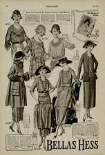 1920 FASHION PAGE 2-ADS / BELLAS HESS & CO. NEW YORK CITY, N.Y. - MUST SEE!!!