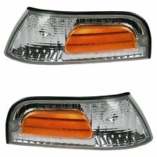 2000 FORD CROWN VICTORIA Side Marker Parking Turn Signal Corner Lights Pair Set
