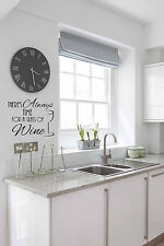 Quirky Kitchen decal wall stickers room decor feature art
