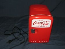 Coca-Cola Mini Fridge Cooler/Warmer Retro Personal Fridge Koolatron Model KWC-4U