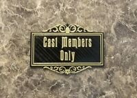 Disney Cast Members Only Sign / Plaque Inspired Magnet