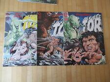 Joe Kubert gol 1,2,3 complete epic Comics