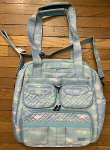NWT LUG Puddle Jumper SE Convertible Overnight / Gym Bag Tote MYSTIC SEAGLASS