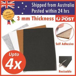 Felt Pad Sheet Furniture Floor Protector Pads Self Adhesive 3mm A4 Sheet