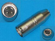 XLR Plug Male to Mini XLR Plug Adaptor