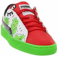 Puma basket cactus monster preschool Sneakers Casual   Sneakers Green Boys -