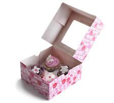 Boîte de rangement pour 4 pcs 2x Muffin Cupcake Boîte de transport boite Caja carton
