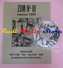 rivista ZUM 10/1997 + CD Compilation Joan For Arc >Devo Snuff Built To Spill