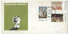 1974 Australian Paintings  set of 3  Unaddressed