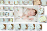 Newborn Swaddle Sleeping Baby Girl Boy Muslin Wrap Bedding Wrap Blanket