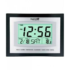 Digivolt Reloj Digital de Pared RP-8104 ENVIO ESPAÑA 22 cm x 17 cm x 3,6 cm 24h