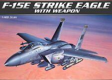 KIT modello aca12264-ACADEMY 1:48 - McDonnell Douglas F-15E EAGLE con le bombe