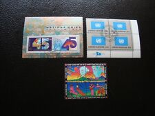 NATIONS-UNIS - 10 timbres neuf ou oblitere (Z14) united nations