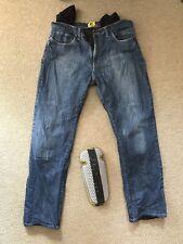 "Draggin Jeans Size 34"" Waist 32"" Leg Motorbike Motorcycle Excellent Condition"