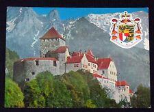 Liechtenstein Castle Vaduz Vintage Postcard Unposted