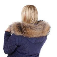 Fellkapuze aus Finnraccoon Pelzstreifen Waschbär Fell für Kapuze Pelzbesatz FOX