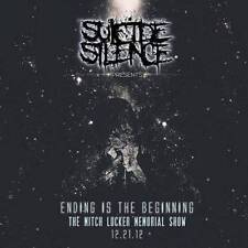 SUICIDE SILENCE-THE MITCH LUCKER MEMORIAL SHOW-JAPAN CD+DVD G88