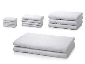 500 GSM Egyptian Cotton Hotel Quality Face,Hand,Bath Towel Bath Sheets White