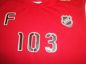 NHL SCOUTING COMBINE ADIDAS CLIMALITE SPEEDWICK SHIRT VILARDI PRO STOCK RETURN