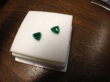 brazilian trillium cut emerald AA grade 5 x 5 .45 ctw (.50 1/2 ctw)