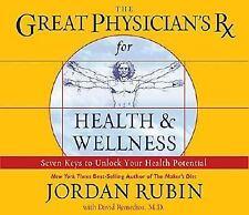 The Great Physician's RX for Health & Wellness JORDAN RUBIN 6 Audio CDs $29.99