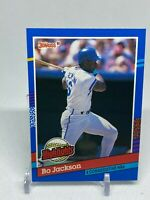 1991 Donruss Highlights BC10 Bo Jackson Kansas City Baseball Card