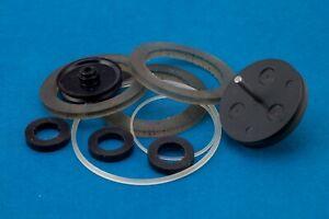 Complete set for Walkman Sony WM-D6C : 2 idler tires,  2 belts, 1 capstan ring